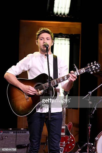 Musical guest Niall Horan performs on December 13 2016