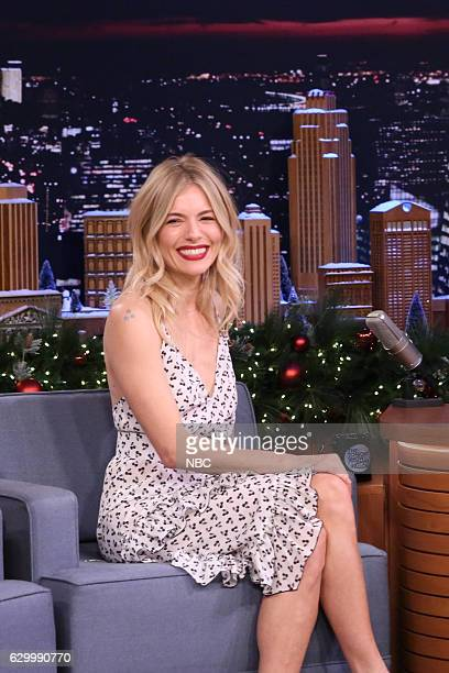 Actress Sienna Miller during an interview on December 15 2016