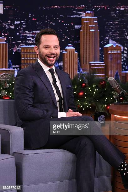 Actor Nick Kroll during an interview on December 21 2016