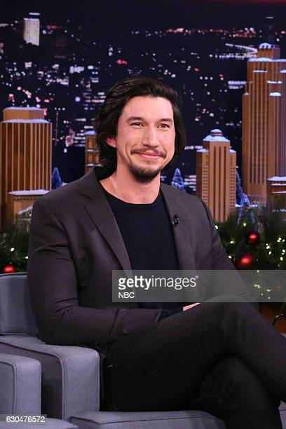Actor Adam Driver during an interview on December 23 2016
