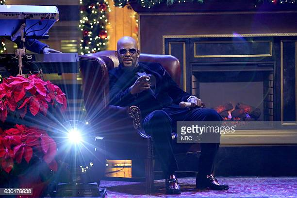 Musical guest R Kelly performs on December 23 2016