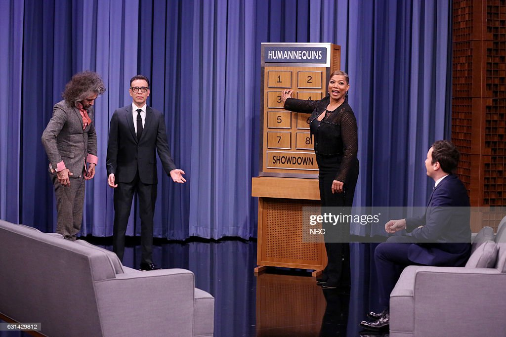 "NBC's ""The Tonight Show Starring Jimmy Fallon"" with guests Queen Latifah, Fred Armisen, The Flaming Lips"