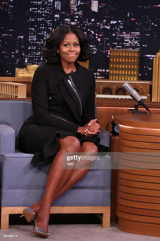 "NBC's ""The Tonight Show Starring Jimmy Fallon"" with guests Michelle Obama, Stevie Wonder"