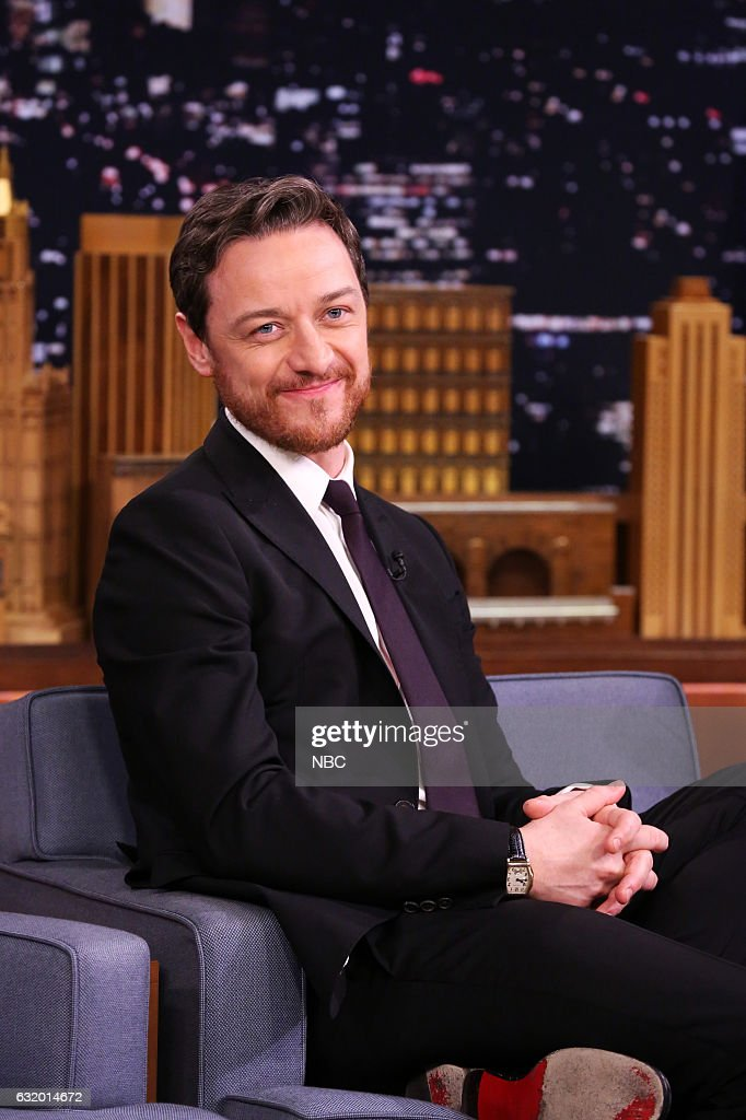 """NBC's """"The Tonight Show Starring Jimmy Fallon"""" with guests James McAvoy, Nick Offerman, Kings of Leon, Sit-In: Nick Valensi"""