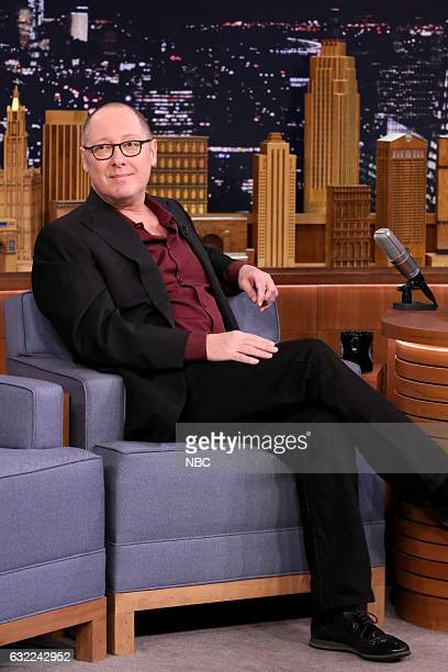Actor James Spader on January 20 2017
