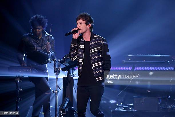 Musical guest Louis Tomlinson performs on January 24 2017