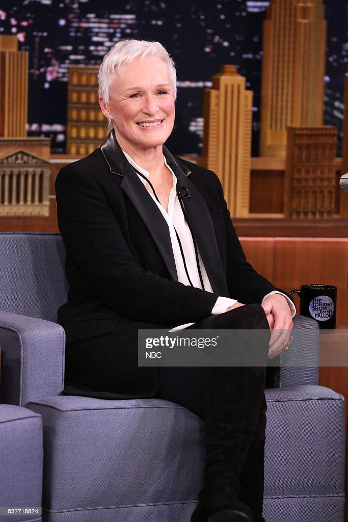 """NBC's """"The Tonight Show Starring Jimmy Fallon"""" with guests Glenn Close, Jay Baruchel, Candice Thompson"""