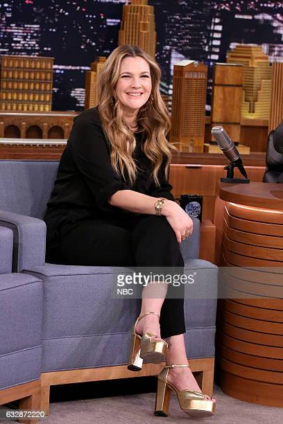Episode 0612 -- Pictured: Actress Drew Barrymore on January 27, 2017 --