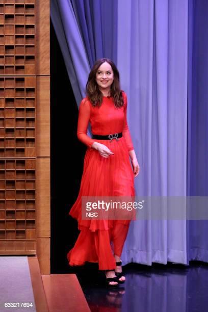 Actress Dakota Johnson arrives on January 31 2017
