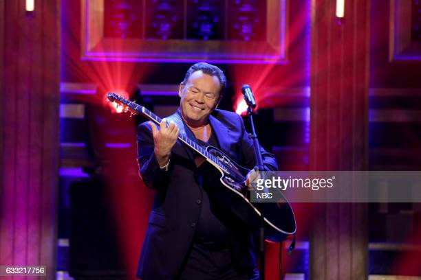 Ali Campbell of musical guest UB40 performs on January 31 2017