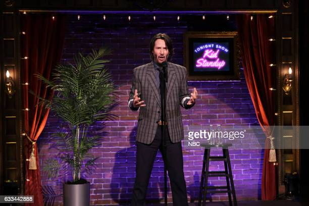 Actor Keanu Reeves during Kid StandUp on February 1 2017