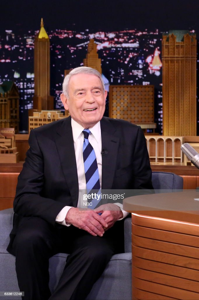 "NBC's ""The Tonight Show Starring Jimmy Fallon"" with guests Kristen Stewart, Dan Rather, Big Sean"