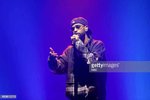 Musical guest Big Sean performs on February 2 2017