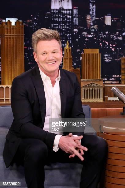 Chef Gordon Ramsay on February 3 2017
