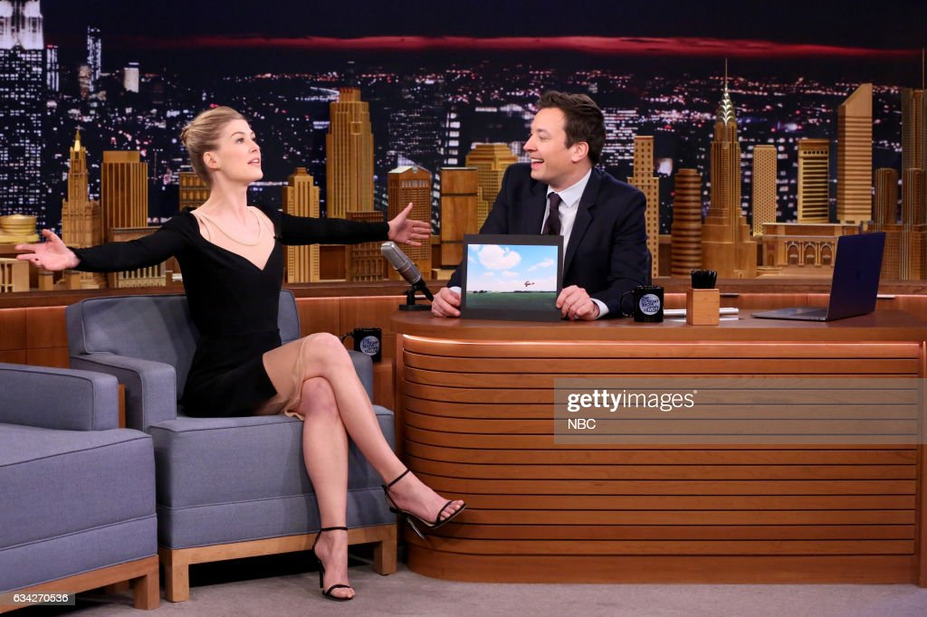 "NBC's ""The Tonight Show Starring Jimmy Fallon"" with guests Ice Cube, Rosamund Pike, The Band Perry"