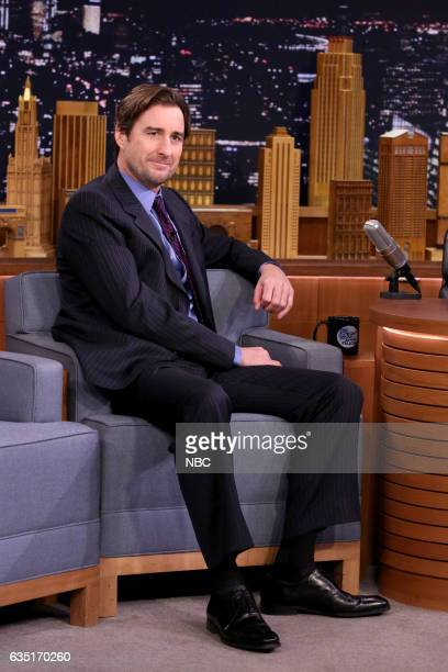 Actor Luke Wilson on February 13 2017