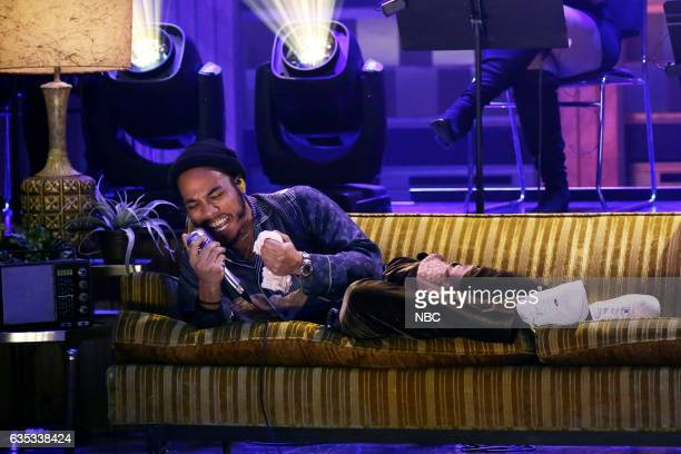 Anderson Paak of musical guest NxWorries performs on February 14 2017