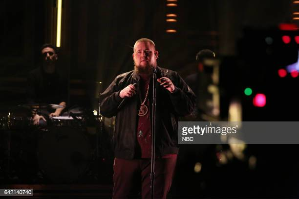 Musical guest Rag'n'Bone Man performs on February 16 2017