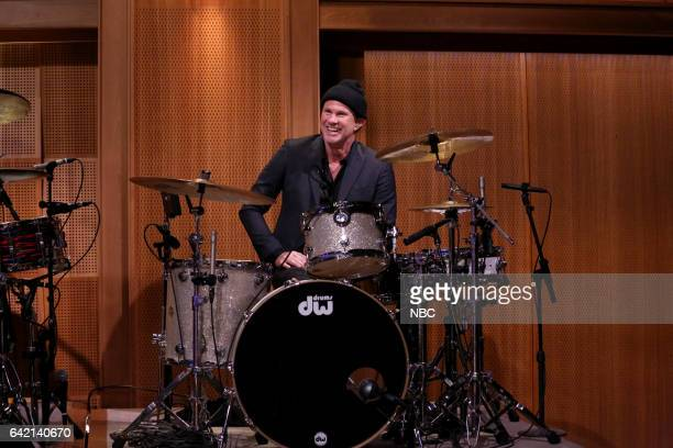 Musician Chad Smith on February 16 2017