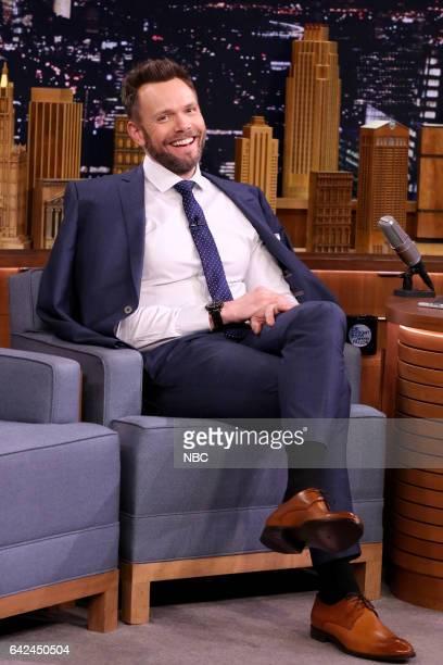 Comedian Joel McHale on February 17 2017