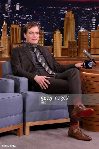 Actor Michael Shannon on February 28 2017