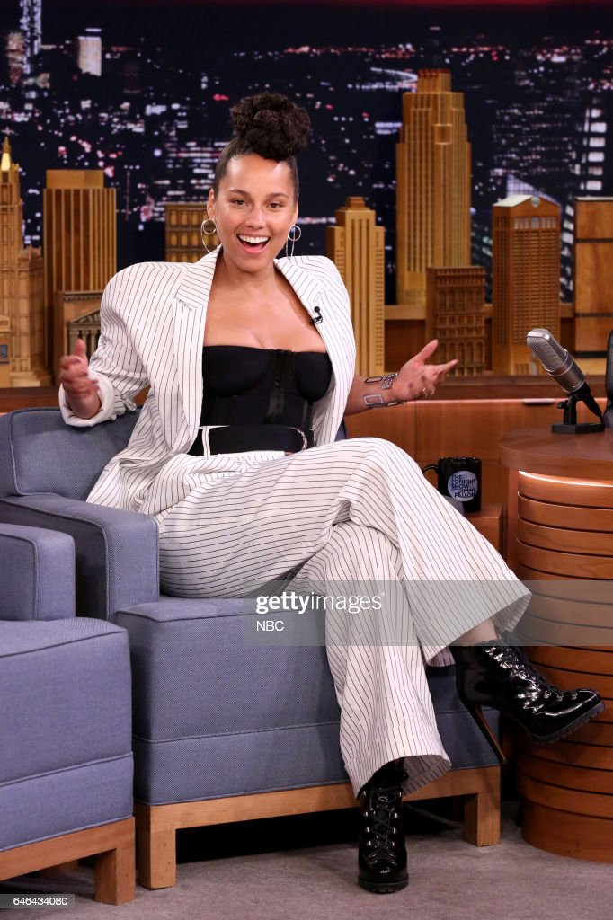 Singer Alicia Keys on February 28, 2017 -- (Photo by: Andrew Lipovsky/NBC/NBCU Photo Bank via Getty Images))