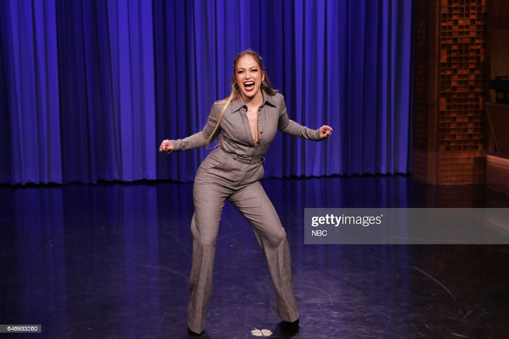 Actress Jennifer Lopez during a Dance Battle on March 1, 2017 -- (Photo by: Andrew Lipovsky/NBC/NBCU Photo Bank via Getty Images))
