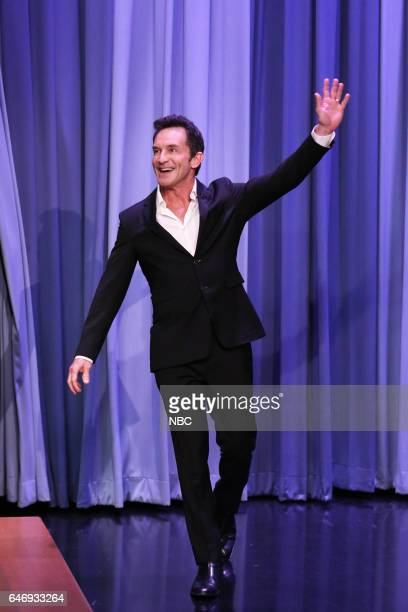 Game show host Jeff Probst arrives to the show on March 1 2017