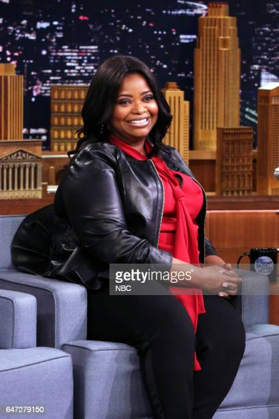 Actress Octavia Spencer during an interview on March 2 2017