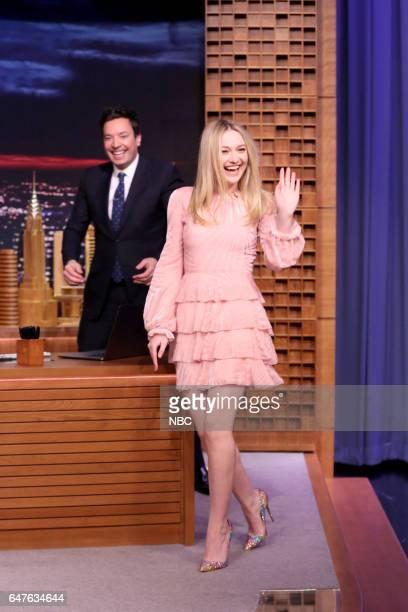 Actress Dakota Fanning arrives on March 3 2017