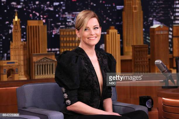 Actress Elizabeth Banks during an interview on March 16 2017