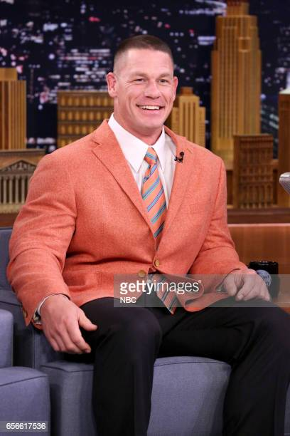 Professional wrestler John Cena on March 22 2017