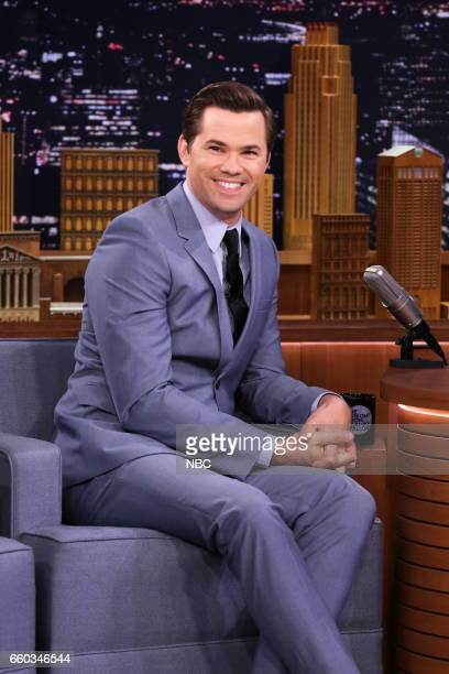 Actor Andrew Rannells during an interview on March 29 2017