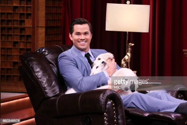 Actor Andrew Rannells during Pup Quiz on March 29 2017