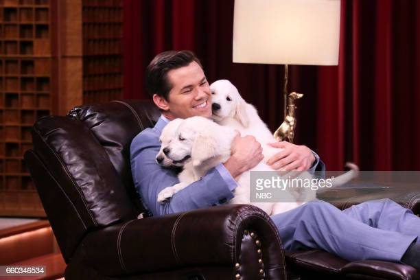 Actor Andrew Rannells during 'Pup Quiz' on March 29 2017