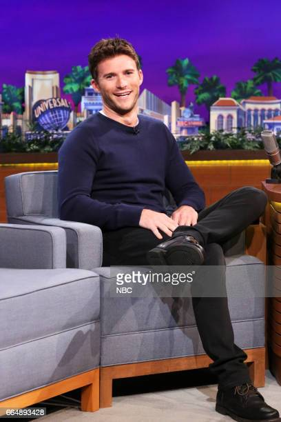 Actor Scott Eastwood during an interview on April 4 2017