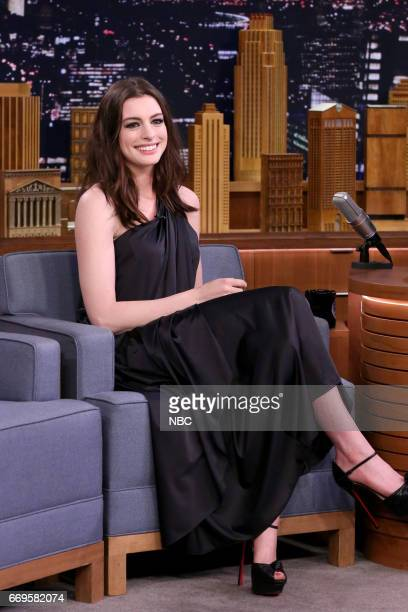 Actress Anne Hathaway on April 17 2017