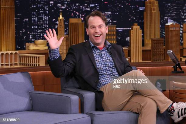Comedian Mike Birbiglia during an interview on April 21 2017