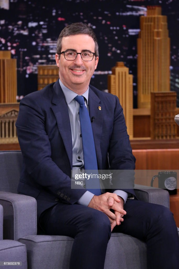 "NBC's ""Tonight Show Starring Jimmy Fallon"" With Guests John Oliver, Patton Oswait, James Arthur"