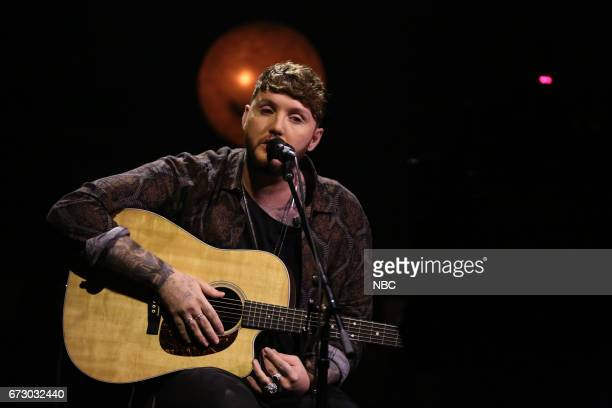Musical Guest James Arthur performs Say You Won't Let Go on April 25 2017