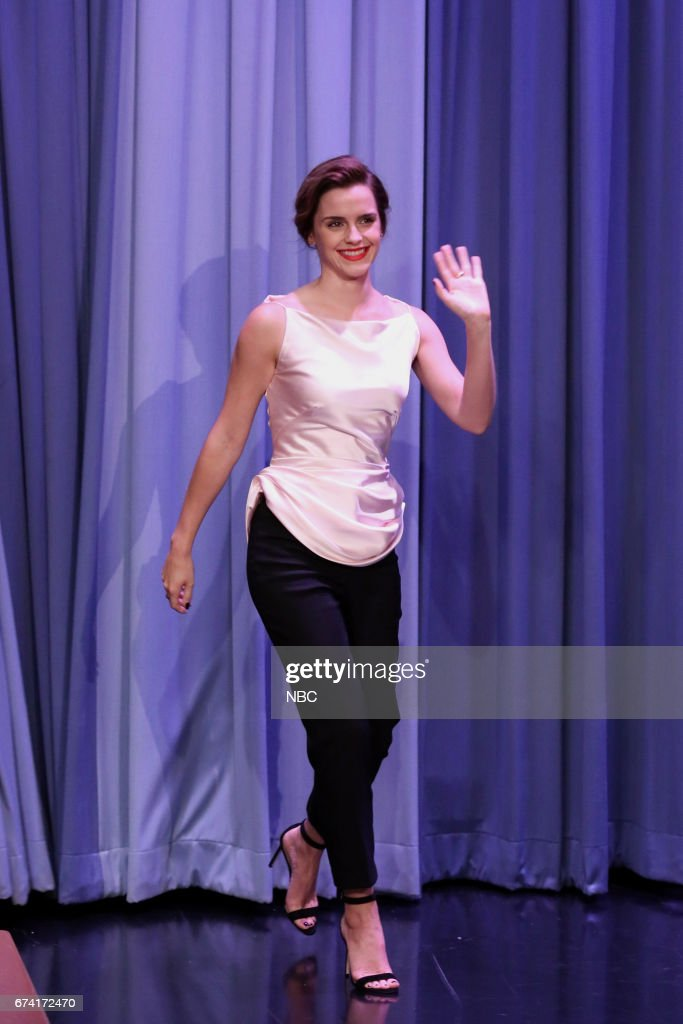 """NBC's """"Tonight Show Starring Jimmy Fallon"""" With Guests Emma Watson"""