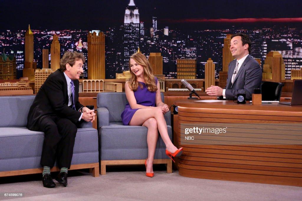 "NBC's ""Tonight Show Starring Jimmy Fallon"" With Guests Martin Short, Britt Robertson, Jessica Seinfeld"