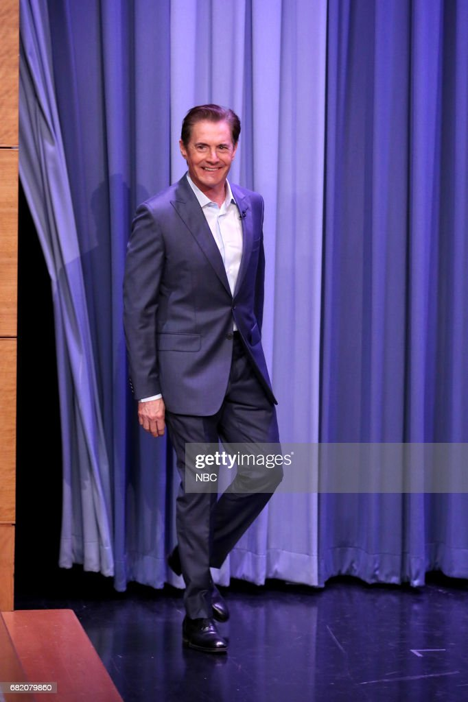 """NBC's """"Tonight Show Starring Jimmy Fallon"""" With Guests Michelle Pfeiffer, Kyle MacLachlan, Mark Normand"""