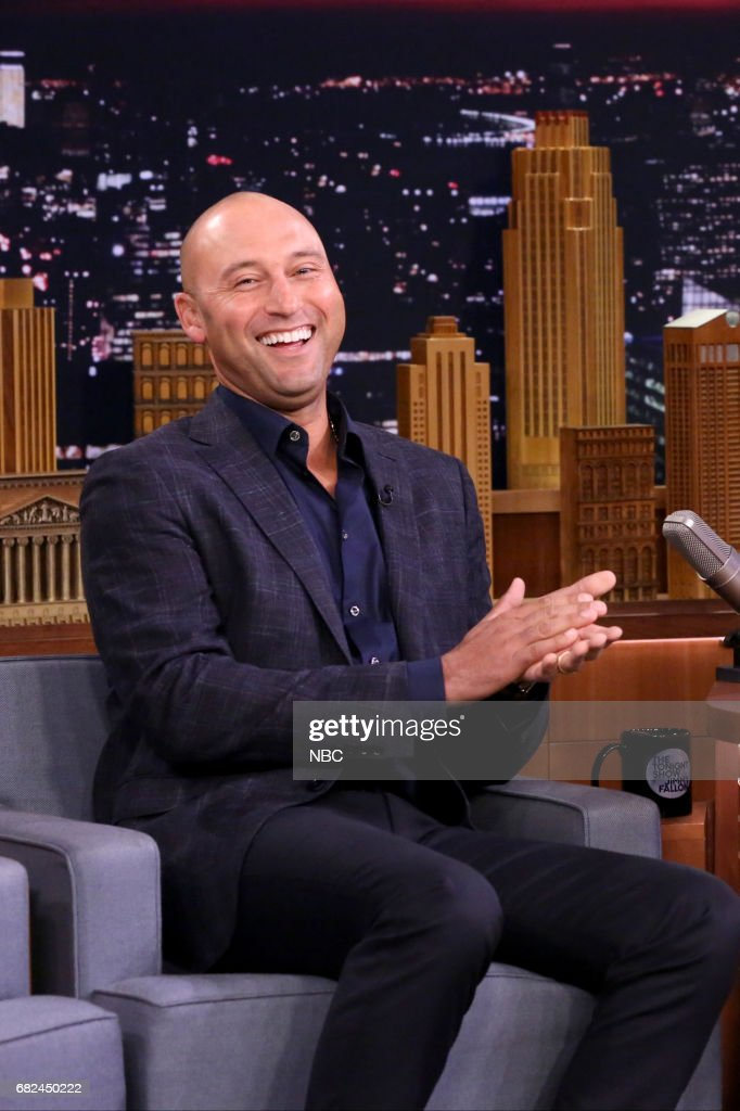"NBC's ""Tonight Show Starring Jimmy Fallon"" With Guests Derek Jeter, Katherin Langford, Father John Misty"