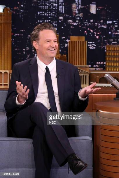 Actor Matthew Perry during an interview on May 16 2017