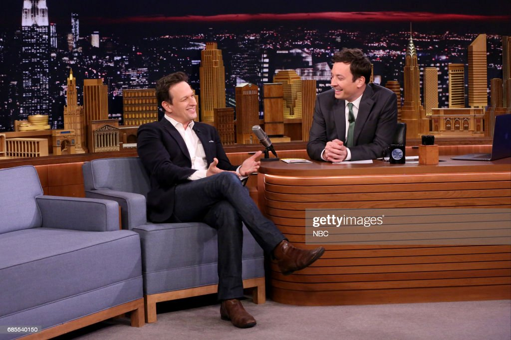 Actor Josh Charles during interview with host Jimmy Fallon on May 19, 2017 --