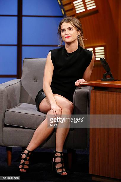 Actress Keri Russell during an interview on July 10 2014