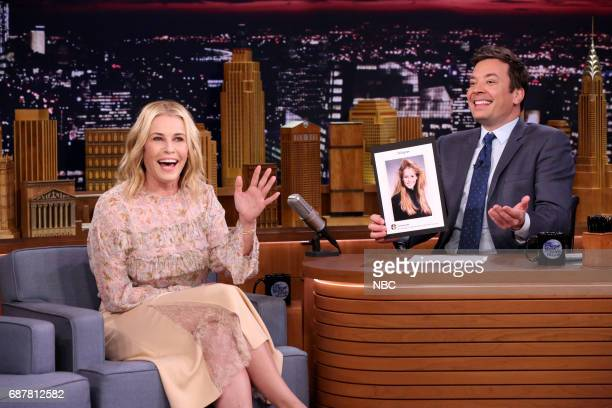 Comedian Chelsea Handler during an interview with host Jimmy Fallon on May 22 2017