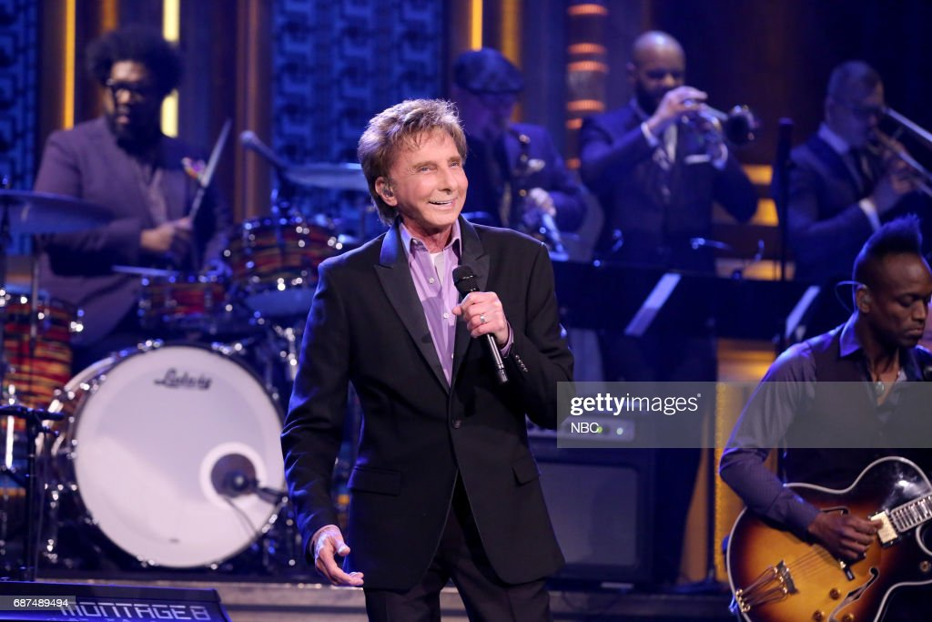 Musician Barry Manilow performs 'This Is My Town' on May 23, 2017 --