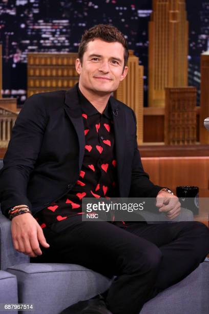 Actor Orlando Bloom during an interview on May 24 2017